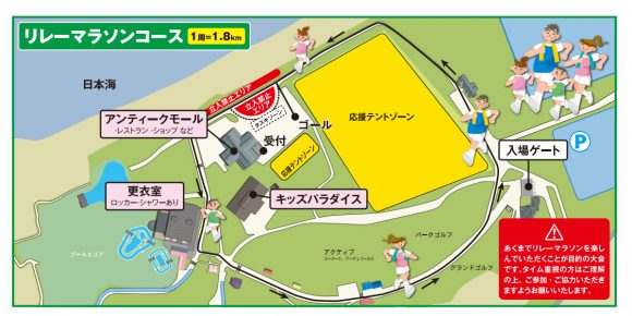 FBCリレーマラソンコース