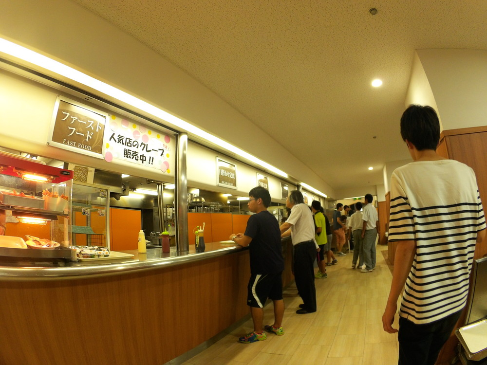 福井工業大学 食堂カウンター(1)