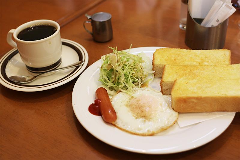 清水喫茶店 : モーニング (1)