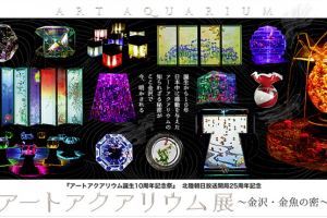 【石川・金沢】アートアクアリウム展1-1