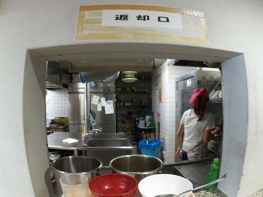 鯖江市役所食堂返却口