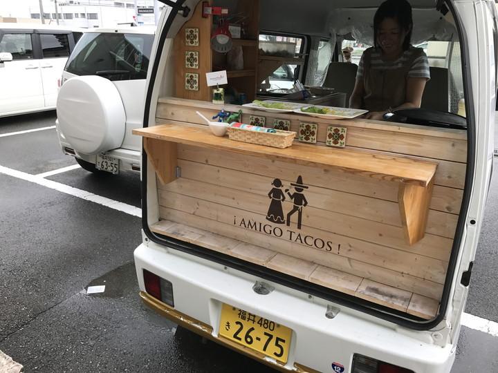 「アミーゴタコス」さんのケータリングカー