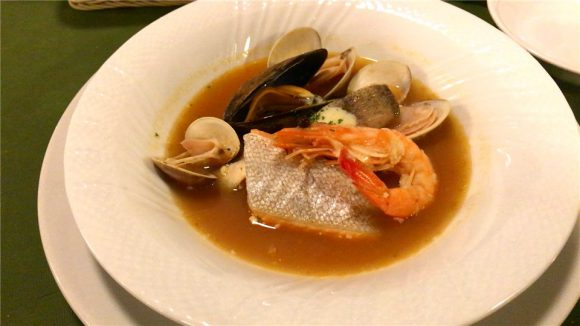 真鱈と魚介のブイヤベース
