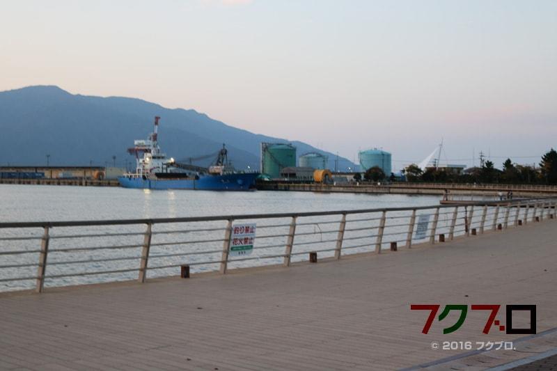 金ケ崎緑地 敦賀港「ミライエ」 イルミネーション点灯前(3)