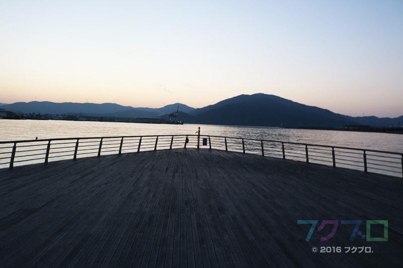 金ケ崎緑地 敦賀港「ミライエ」 イルミネーション点灯前(7)