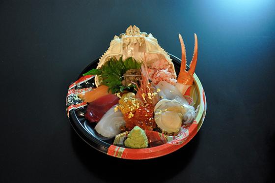 若狭家 漁火丼