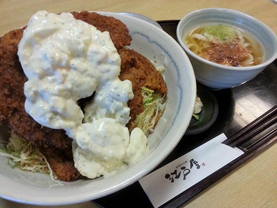 越前めん処 江戸屋 タルタルソースカツ丼