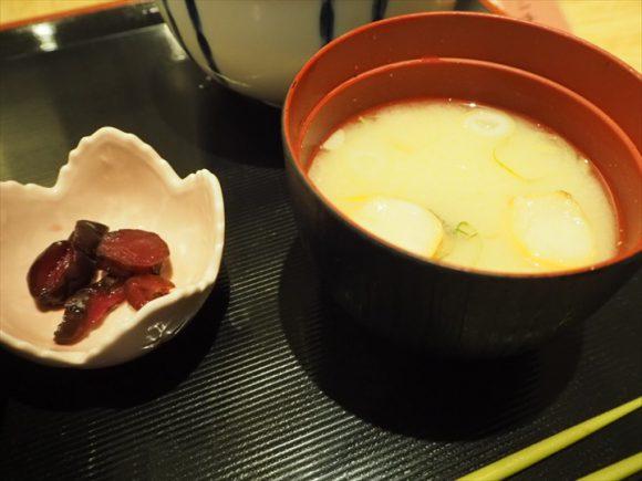 おかめ 味噌汁
