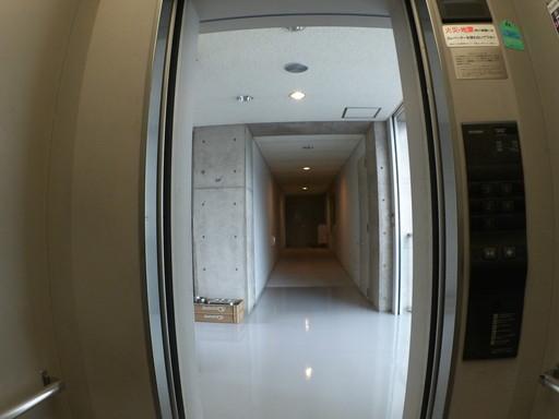 鯖江市役所食堂前エレベーター