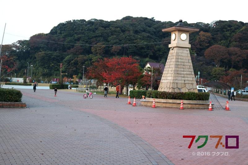 金ケ崎緑地 敦賀港「ミライエ」 イルミネーション点灯前(1)