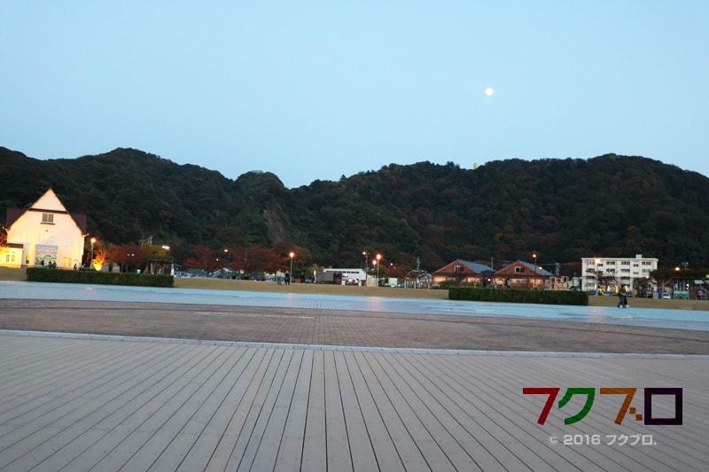 金ケ崎緑地 敦賀港「ミライエ」 イルミネーション点灯前(4)