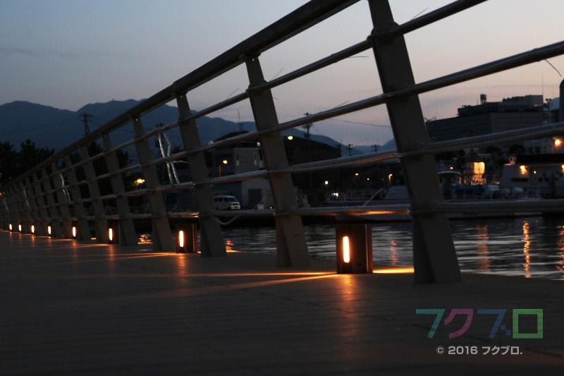 金ケ崎緑地 敦賀港「ミライエ」 イルミネーション点灯前(10)