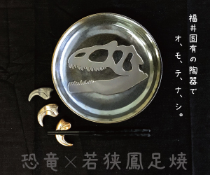 若狭鳳足焼ディノシリーズ