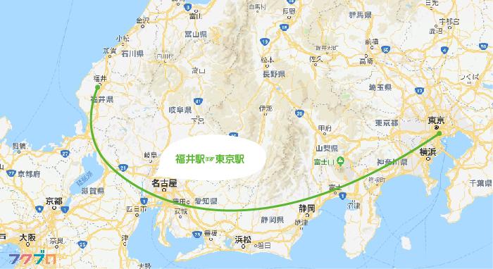 福井 東京 高速バス