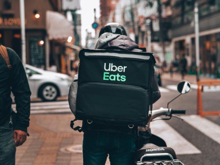 Uber Eats配達員