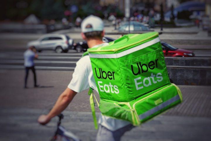 UberEats biker